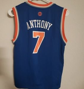 adidas Shirts   Tops - Adidas NY Knicks Carmelo Anthony Jersey Youth Med e50346c12